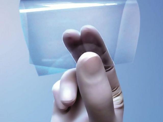 Film PV transparent