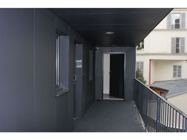 Les entrées des appartements  - 28 logements riquet