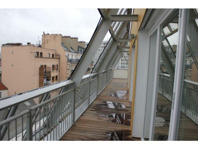 Une terrasse commune  - 28 logements riquet