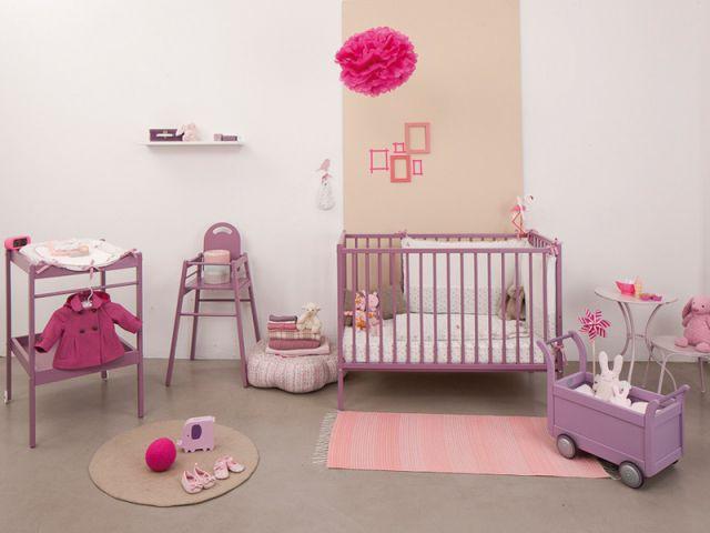 La chambre vieux rose - Chambres  bébé