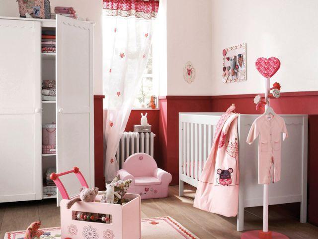 La chambre romantique - Chambres  bébé