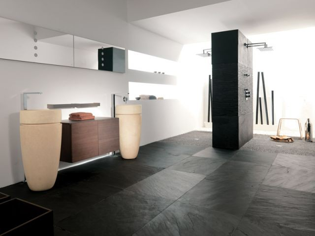 quel mat riau pour le sol de ma salle de bains. Black Bedroom Furniture Sets. Home Design Ideas
