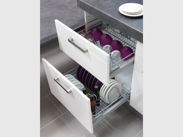 Dans la cuisine chaque objet son rangement - Rangement dans la cuisine ...