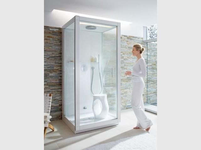 cabine de douche hammam osaka simple cabine de douche. Black Bedroom Furniture Sets. Home Design Ideas