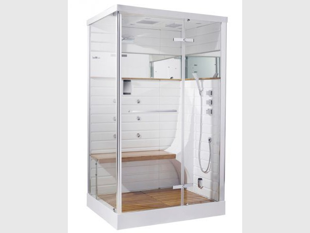 cabine de douche hammam leroy merlin douche a luitalienne dans chambre enfant leroy merlin with. Black Bedroom Furniture Sets. Home Design Ideas