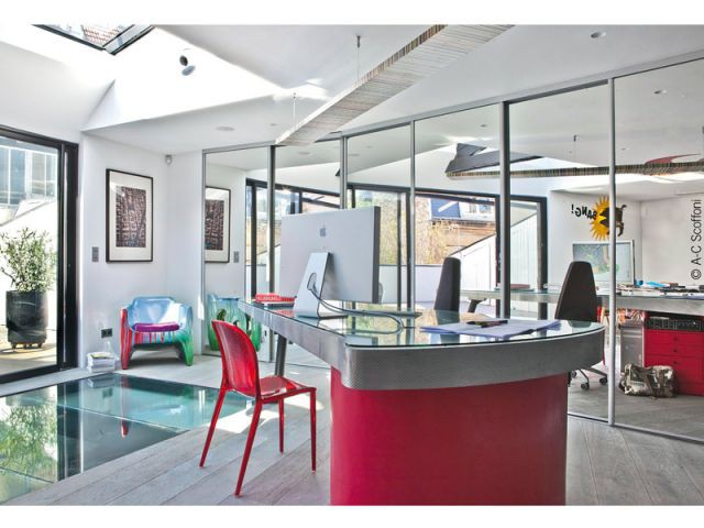 Un bureau sur la terrasse - Duplex Carlos Pujol