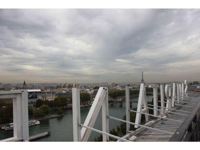 Vue sur Paris depuis la terrasse  - Samaritaine visite