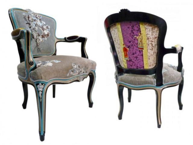 Douze fauteuils pour un salon design - Sillas luis xvi modernas ...