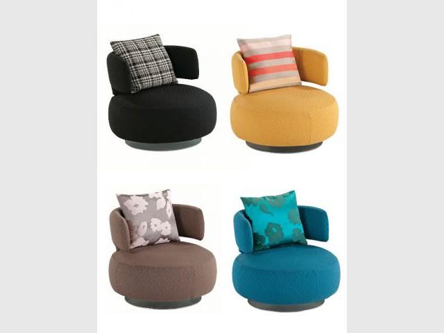 Douze fauteuils pour un salon design - Fauteuil pour petit salon ...