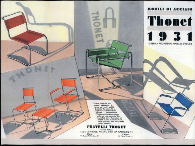 Marcel Breuer - affiche thonet