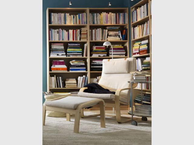 Bien choisir sa biblioth que - Escabeau bibliotheque ikea ...