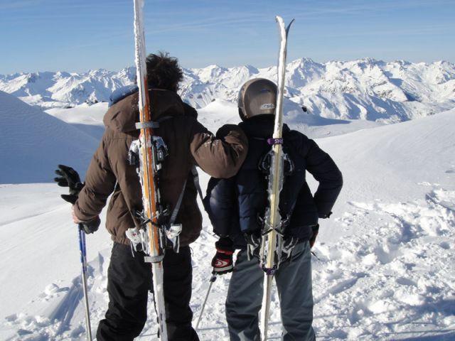 Skiss - fixation skis