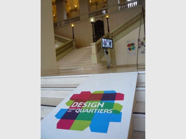 Design dans les quartiers - Hôtel de ville - Biennale de Design de Saint Etienne