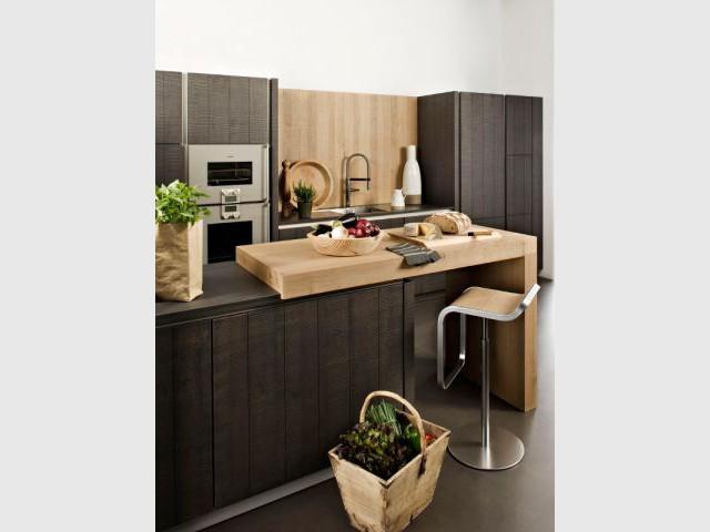 15 cuisines bois au top de la tendance 2013 for Cuisine cannelle darty