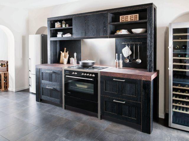 15 cuisines bois au top de la tendance 2013. Black Bedroom Furniture Sets. Home Design Ideas