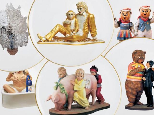 Bernardaud 150 ans 'Banality Series' de Jeff Koons