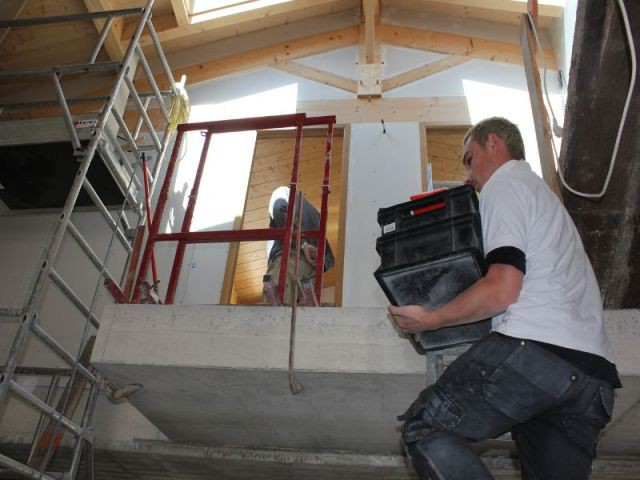 1 plancher lectrique pour chauffer une vieille b tisse de for Plancher chauffant electrique renovation