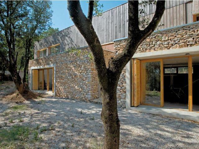 Une maison neuve au look ancien - Maison neuve style ancien ...