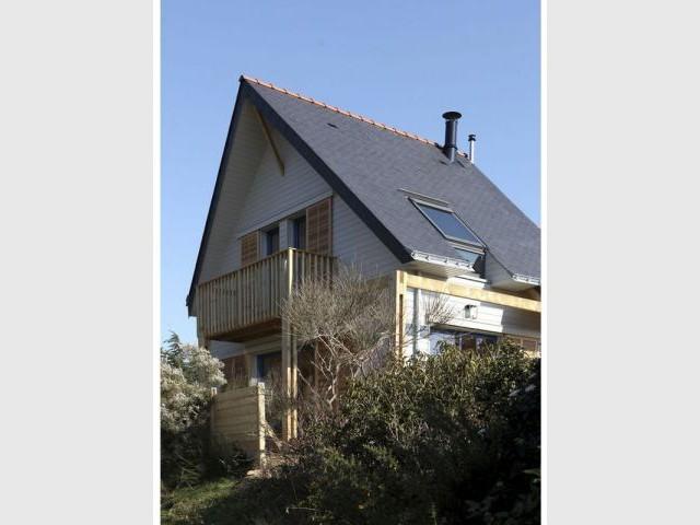 Contrainte du terrain - maison bioclimatique Bretagne