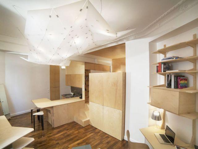 am nager un coin bureau dans un salon. Black Bedroom Furniture Sets. Home Design Ideas