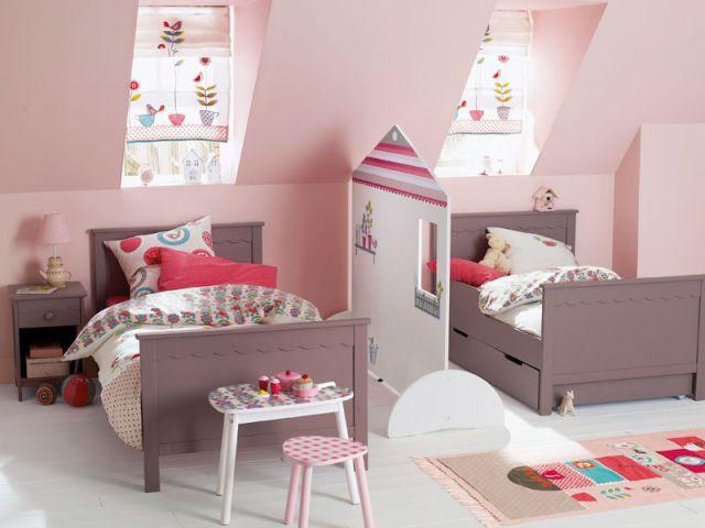 2 enfants une chambre 8 solutions pour partager l 39 espace - Meuble pour piece mansardee ...