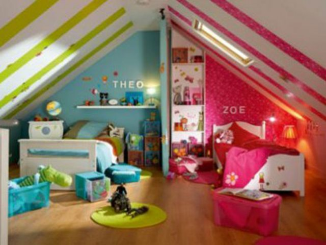 2 enfants une chambre 8 solutions pour partager l 39 espace for Separer une piece en deux