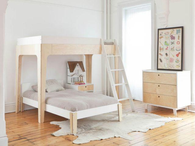 2 enfants une chambre 8 solutions pour partager l 39 espace - Lit superpose quel age ...