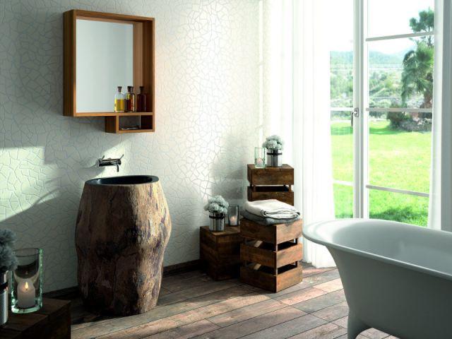 10 vasques originales pour 10 salles de bains styl es. Black Bedroom Furniture Sets. Home Design Ideas