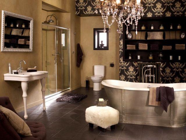 une vasque lancienne pour une salle de bains rtro - Ma Salle De Baincom