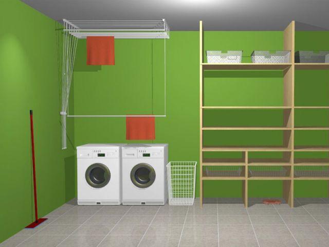 des quipements pratiques et performants pour faire s cher son linge l 39 int rieur. Black Bedroom Furniture Sets. Home Design Ideas