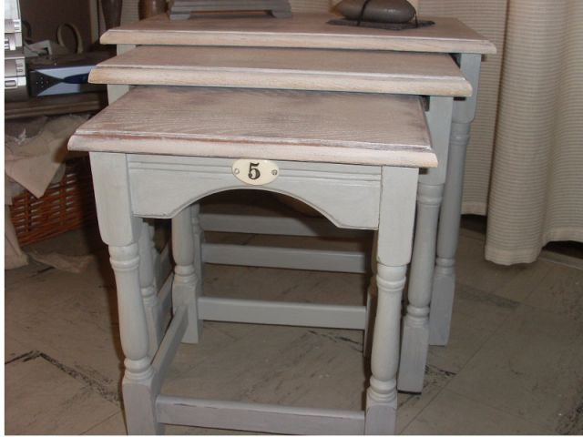 Relooker ses meubles 4 exemples faciles - Relooker une table de salon ...