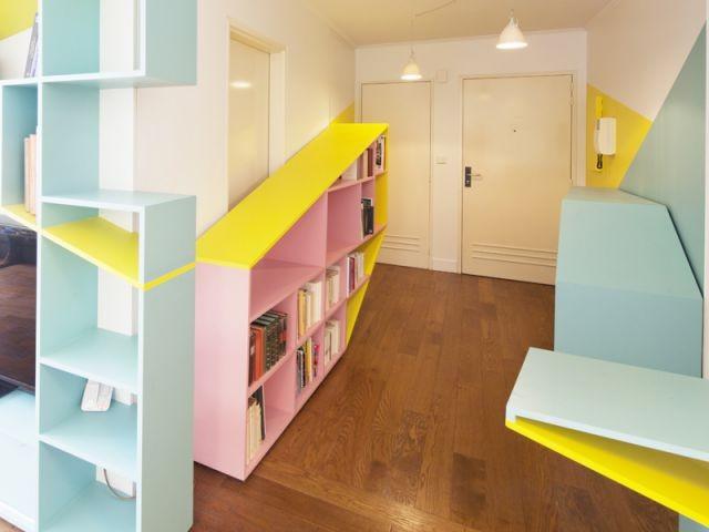 Entrée de l'appartement - Aude Borromée