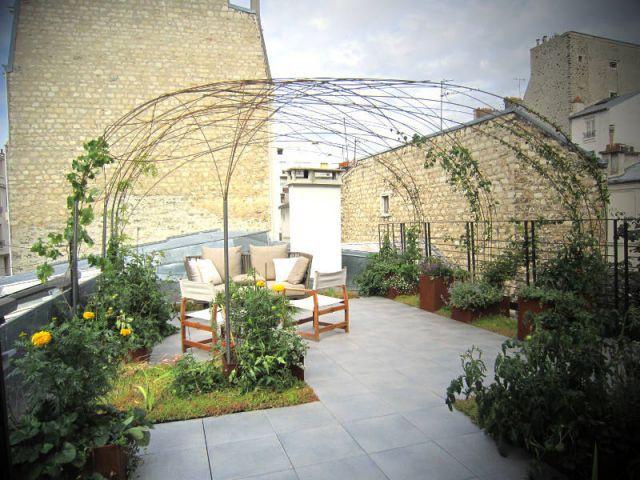 Une cabane végétale