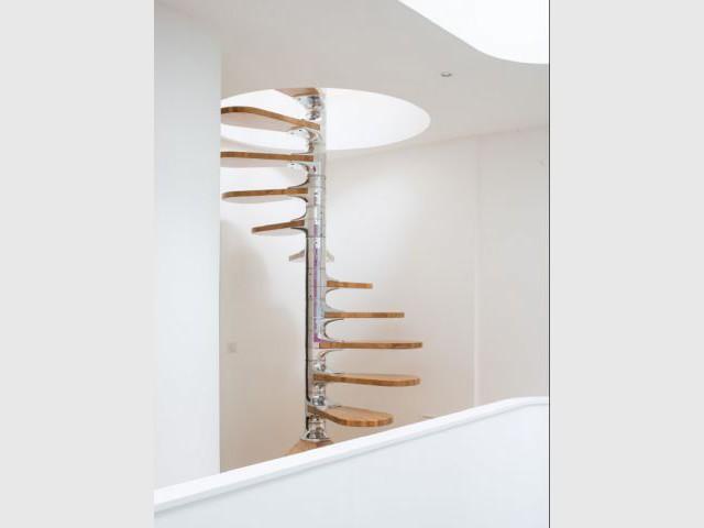 Un escalier Hélicoïdal original - La White House