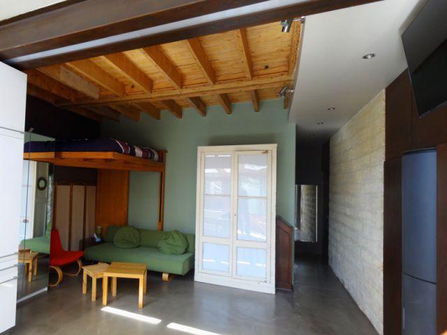 Un intérieur patchwork de bois - Rénovation bois - Projet Craponne