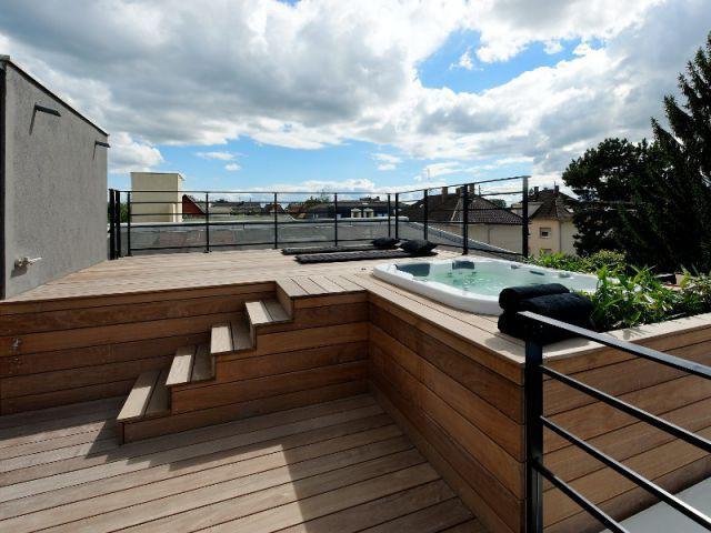 transformer son toit en terrasse cr ation d 39 une terrasse. Black Bedroom Furniture Sets. Home Design Ideas