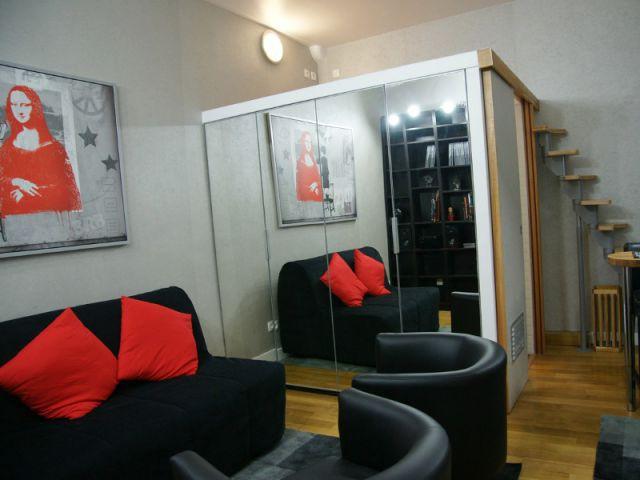1 19m2 int gre 1 bloc mezzanine pour optimiser l 39 espace. Black Bedroom Furniture Sets. Home Design Ideas