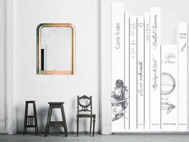 une d coration en trompe l 39 oeil. Black Bedroom Furniture Sets. Home Design Ideas