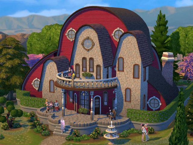Les sims 4 ou comment cr er la maison de mes r ves for Exterieur sims 4
