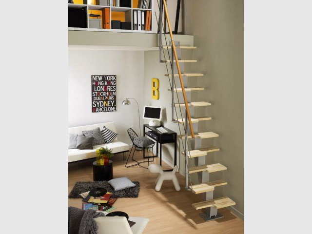 10 id es pour optimiser l 39 espace sous un escalier. Black Bedroom Furniture Sets. Home Design Ideas
