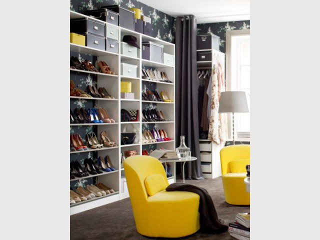 douze solutions astucieuses pour ranger ses chaussures. Black Bedroom Furniture Sets. Home Design Ideas