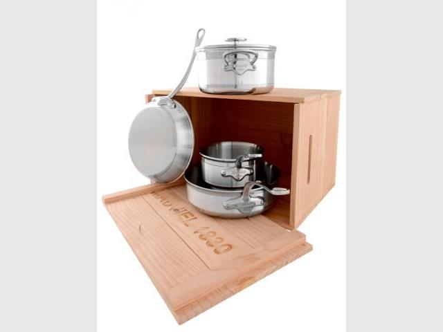 Une cuisine 100 made in france c 39 est possible - Batterie de cuisine haut de gamme ...