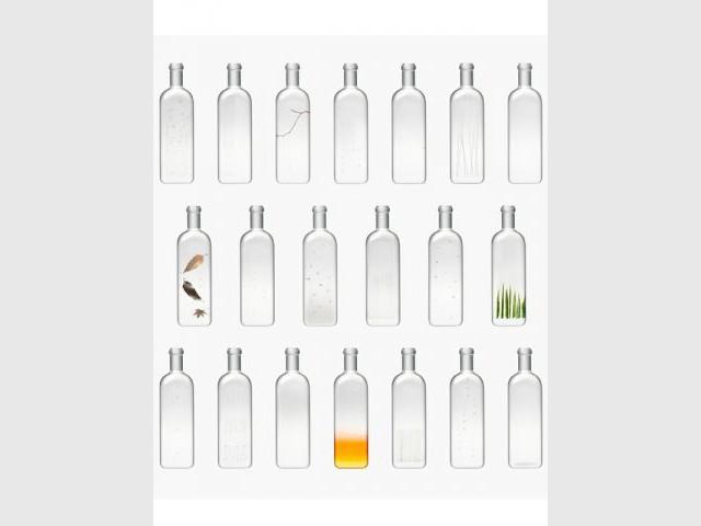Installation Rain Bottle - Nendo