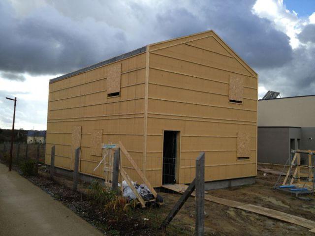 Une maison d 39 architecte mont e en 5 mois - Taxe habitation construction neuve ...