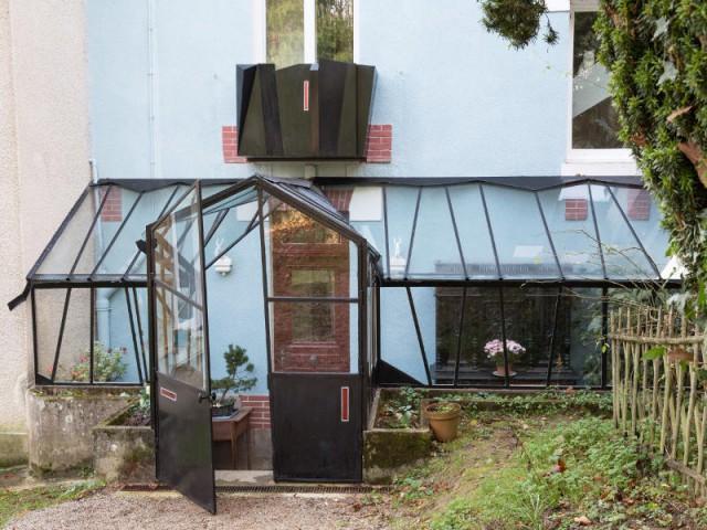 Une verri re contemporaine comme jardin d 39 hiver for Verriere jardin d hiver