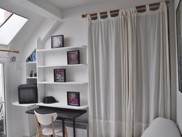 great zone de avant travaux with dressing chambre 12m2. Black Bedroom Furniture Sets. Home Design Ideas