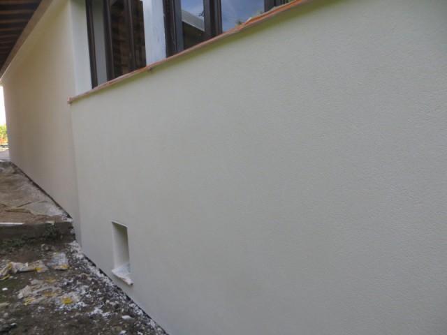 Avant apr s am liorer le confort thermique d 39 une maison for Enduit lisse exterieur