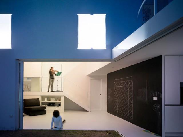Salle de musique - Villa Malaga - OAM Arquitectos