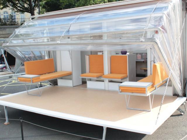 Favori Une caravane papillon qui se transforme en maison YT98