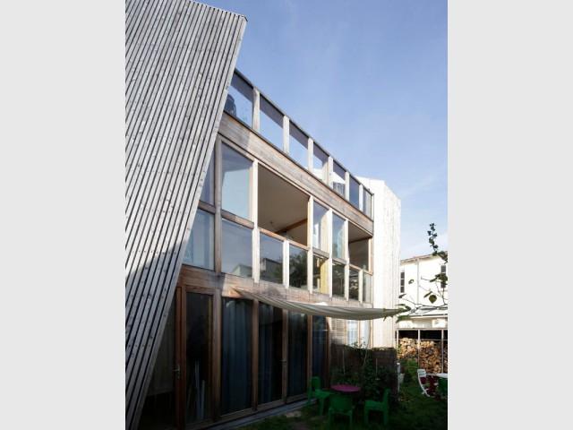 Ouverture sur la façade Sud - Maison Cosse - ARBA Architecture